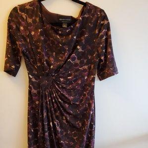 Petite multi colored dress